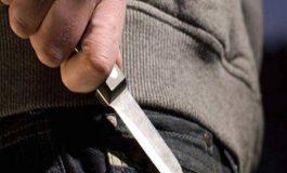 Sujeto detenido por portación de arma blanca