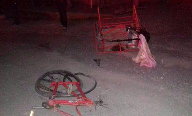PGJSLP investiga fallecimiento de una mujer y su nieto al ser atropellados en Cárdenas