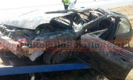Pareja sufre fatal accidente en carretera a Matehuala