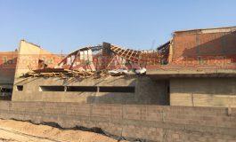 Derrumbe de obra en Monterra deja saldo de 2 trabajadores lesionados
