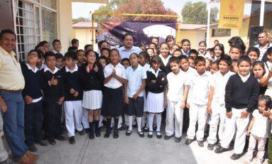 Más obras en infraestructura educativa en Soledad a favor de la Comunidad Escolar del Nivel Básico