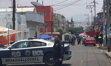 Mueren cuatro policías y un civil en intento de asalto a las oficinas del PRI en Neza