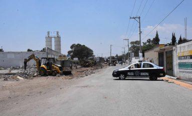 Obras en calle Acapulco mejorarán circulación vial en beneficio de 30 mil habitantes
