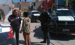 Municipales evitan extorsión telefónica en La Lomita