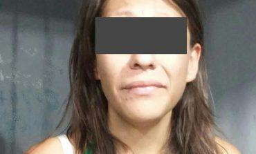 En flagrancia detienen  a mujer por robo domiciliario