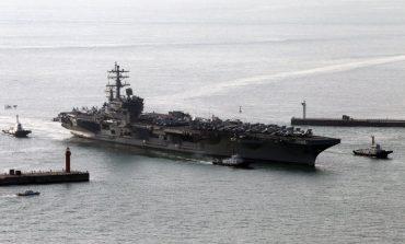 Envía EU otro portaaviones a aguas de la península de Corea