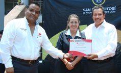 Se suma ayuntamiento de SLP a la colecta anual de la Cruz Roja