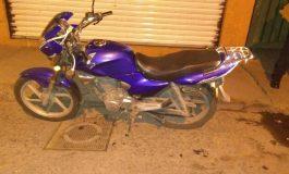 Abandonan en Zona Centro motocicleta robada el fin de semana