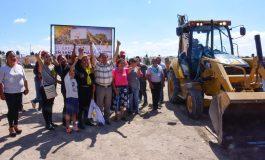 Arrancan nueva construcción de área recreativa a beneficio de colonos de Santo Tomás 2