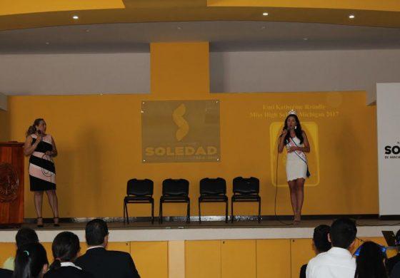 Ofrecen conferencia a niños y jóvenes soledenses para combatir bullying