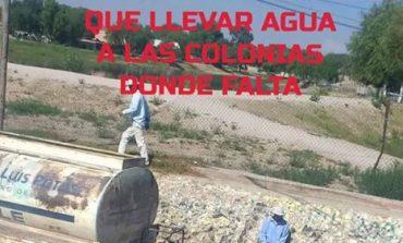 Padecen habitantes de Villa de Arriaga por falta de agua y el alcalde antorchista no los apoya