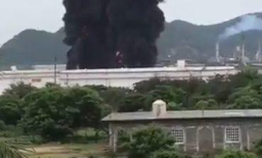 Reportan incendio en refinería de Pemex, en Salina Cruz