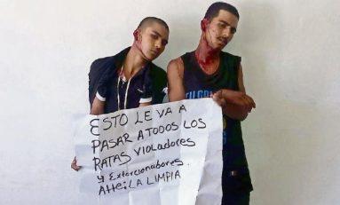 """""""Justicieros"""" mutilan orejas a dos jóvenes en Guanajuato"""