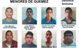 Se fugan 8 reos menores de edad del tutelar de Güémez, Tamaulipas