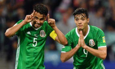 México vence 2 a1 a Rusia y avanza a semifinales