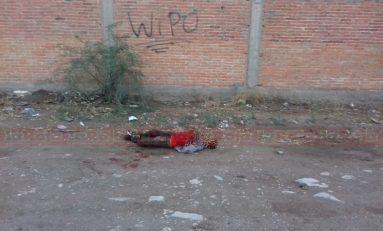 Hallan cadáver de hombre asesinado en Pánfilo Natera y Periférico