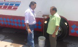 Octavio Pedroza de visita por colonias potosinas despierta inquietudes