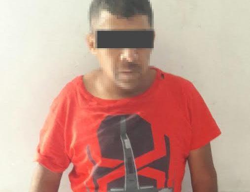 Detienen a hombre que robaba auto estéreos en Soledad