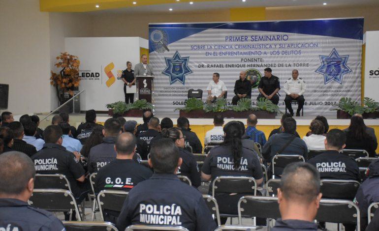 Soledad a la vanguardia en capacitación de calidad en materia de seguridad pública