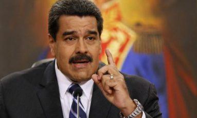 """""""Híncate ante tu padre, dice Nicolás Maduro"""