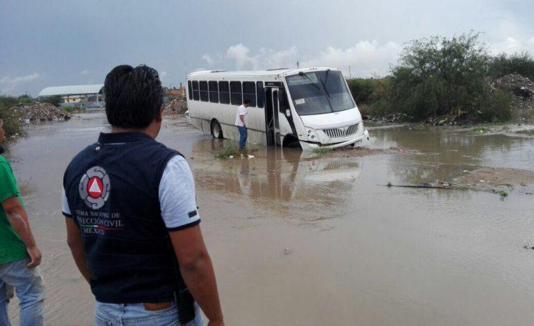11 colonias de Soledad en riesgo por lluvias