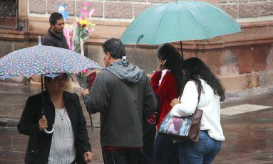 Continuarán las lluvias el resto de la semana: PCM