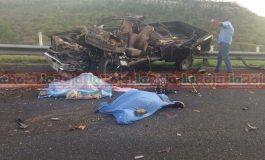 Mortal encontronazo en la Carretera a Rioverde, 4 muertos