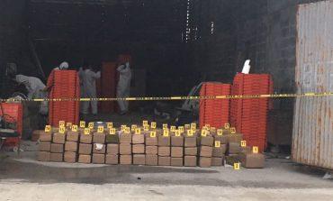 Realizan cateos en Juárez y Monterrey; detienen a dos personas y decomisan media tonelada de droga
