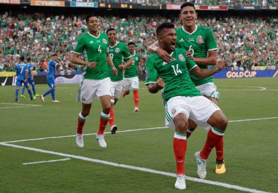México triunfa en su debut de la Copa Oro