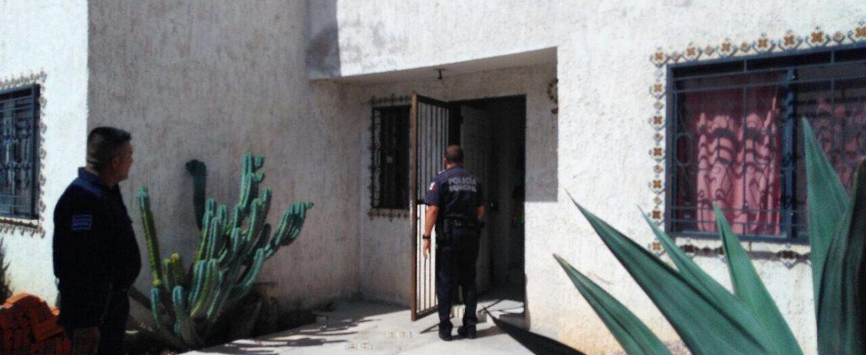 Policías ahuyentan a sujeto que intentaba ingresar a domicilio