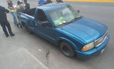 Le roban su camioneta y la localiza en Salvador Nava