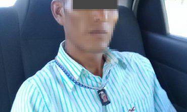 Detienen a sujeto que causó daños al allanar un domicilio en Puertas del Sol