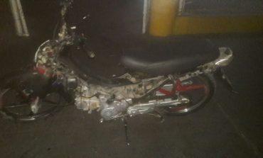 En plena riña pandilleril recuperan motocicleta con reporte de robo