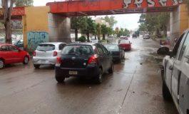 En Soledad reportan saldo de 45 mil pesos en accidentes viales por lluvias