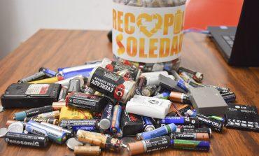 850 kilos de pilas se han recopilado en lo que va del año