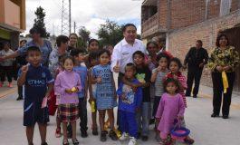 Entregan obra de pavimentación en la cabecera municipal de Soledad