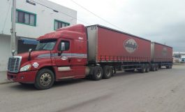 Recuperan trailer cargado de cerveza, habría sido robado en la carretera Zacatecas - Nuevo Laredo