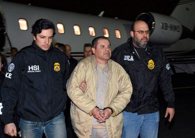 Comparece 'El Chapo' ante tribunal de EU