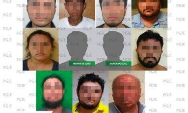 Once detenidos durante segunda semana de agosto