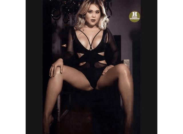 """Gomita calla bocas, se desnuda para la revista """"H"""""""