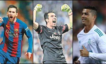 Messi, Cristiano Ronaldo y Buffon nominados a mejor jugador del año por la UEFA