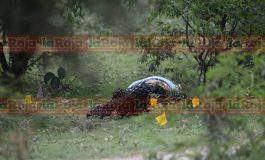 Localizan cadáver de mujer en campos de Camino a Santa Rita