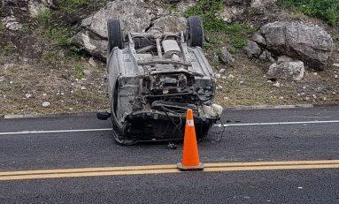Policía Estatal fallece en accidente carretero, habría terminado labores de vigilancia en la FENAPO