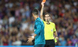 Sancionan 5 partidos a Cristiano Ronaldo