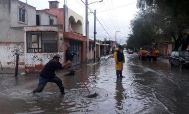 Atendió PC auxilios por lluvias durante fin de semana