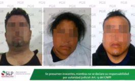 PGJE afirma que detuvo a delincuentes relacionados con hechos violentos de los últimos días, una era policía de Soledad