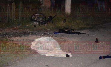 Fatal accidente en motocicleta en Carretera a Zacatecas