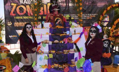 Concurso de Altares fortalecen tradiciones en jóvenes