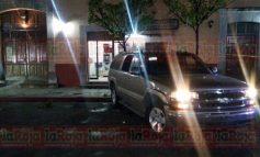 Intentan robar cajero en plena Presidencia de Villa de Reyes, policía municipal pierde la vida