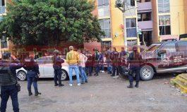Fuerza Metropolitana incursiona en Condominios San Jorge y asegura a dos sujetos y vehìculos
